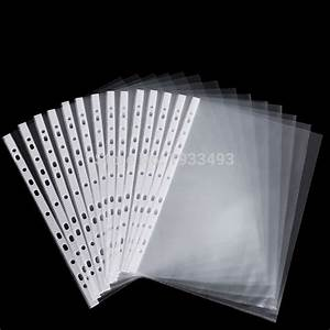 50, sheets, 8, 5x11, , , , a4, strong, transparent, poly, punched
