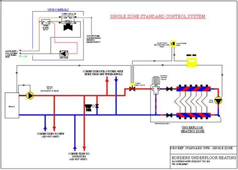 Photos of Air Source Heat Pump Underfloor Heating Schematic