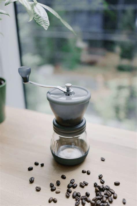 Ceramic conical burrs ensure a precise, uniform grind. Hario Skerton ceramic coffee mill — Minimally Minimal