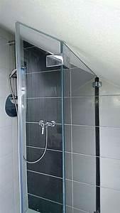 Dachschräge Dusche Verkleidung : kristhal glasdusche mit anpassung an dachschr ge shop ~ Michelbontemps.com Haus und Dekorationen