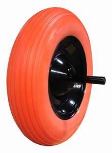 Roue De Brouette Bricomarché : roue de brouette increvable 370 mm avec axe 1461 jm ~ Melissatoandfro.com Idées de Décoration