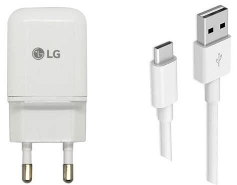Lg Fast Charge Travel Adapter With Usb Cable Type C