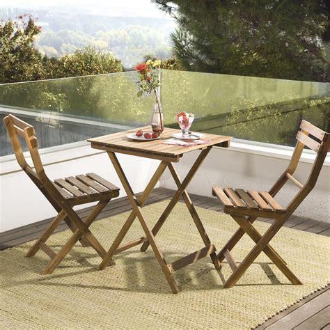 table et chaises de jardin leroy merlin salon de jardin acacia bois marron 1 table et 2 chaises