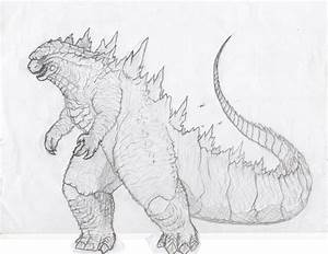 Godzilla 2014(2) finished by kamakoa09 on DeviantArt