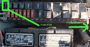 Power Supply Fuse For Radio Cd Player Etc   Located