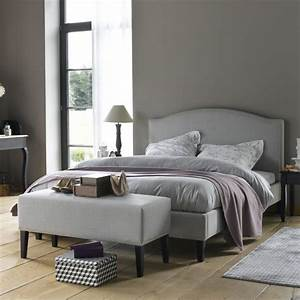 Lit Baroque Blanc : bout de lit blanc la redoute visuel 1 ~ Teatrodelosmanantiales.com Idées de Décoration
