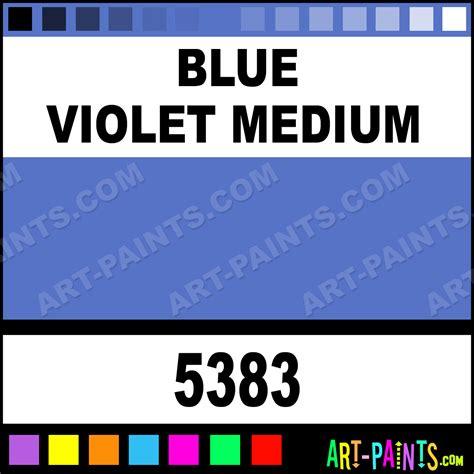 blue violet medium matte acrylic paints 5383 blue