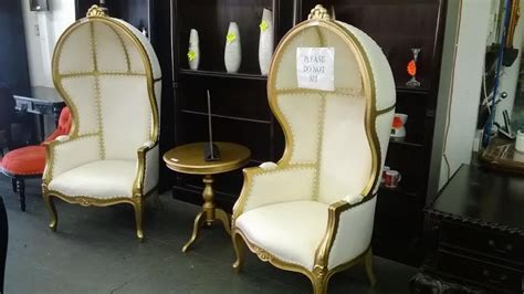 gold egg shell throne chair rental los angeles orange