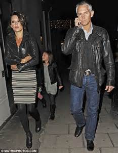 Gary Lineker and his wife Danielle wear matching leather ...