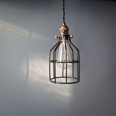 reserved for maureenmahon1 industrial swag cage bulb