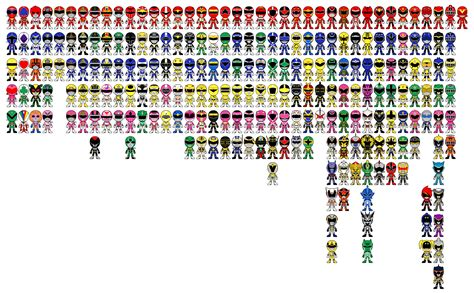 ranger list sentai appreciation threat general universe the loyal fan forum with