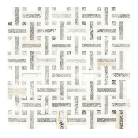Jeffrey Court Mosaic Tile by Jeffrey Court Windswept 12 75 In X 12 375 In X 8mm