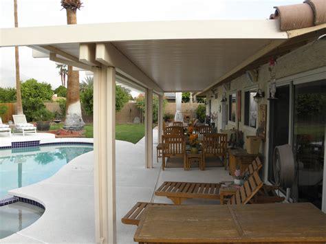 solid roof patio covers indio la quinta palm desert
