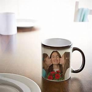 Kaffeetasse Selbst Gestalten : zaubertasse mit fotodruck schwarze magic foto tasse mit ~ Watch28wear.com Haus und Dekorationen