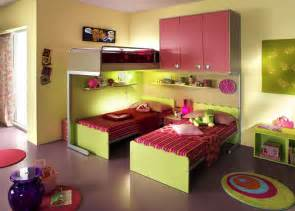 kid bedroom ideas ergonomic bedroom designs for two children from linead kidsomania