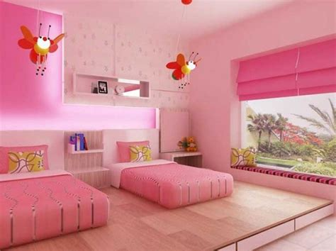Lovely Twin Bedroom Designs For Girls