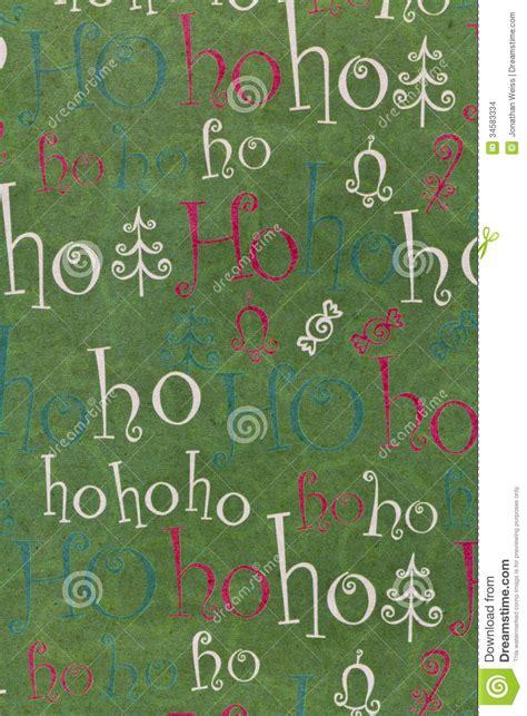 christmas ho ho ho background vertical stock photo image