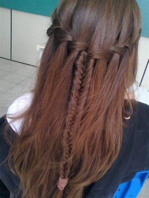 10 best waterfall braids hairstyle ideas for long hair