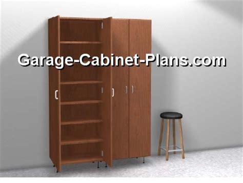 utility cabinet plans   broom closet garage