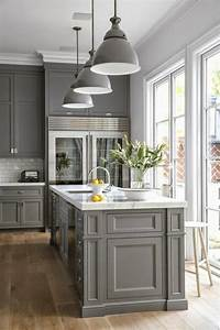 1001 idees pour repeindre sa cuisine les couleurs With kitchen colors with white cabinets with perles en papier