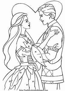 BARBIE COLORING PAGES: BARBIE AND KEN TO PRINT AND COLOR ...