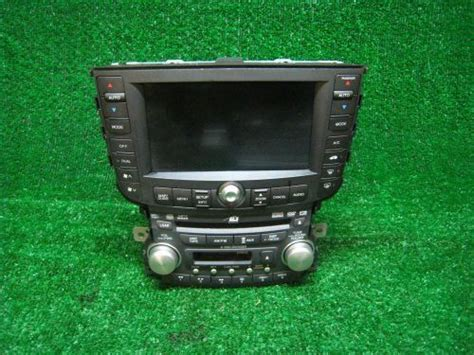 2002 Acura Tl Radio Code by Find 2008 Acura Tl Type S Oem Dash Navigation Gps Dvd 6cd