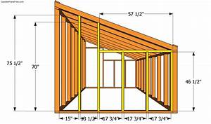 Lean-to Greenhouse Plans Free Garden Plans - How to