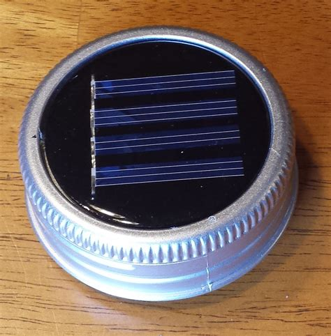 25 jar solar light lids great for projects or by fsgifts