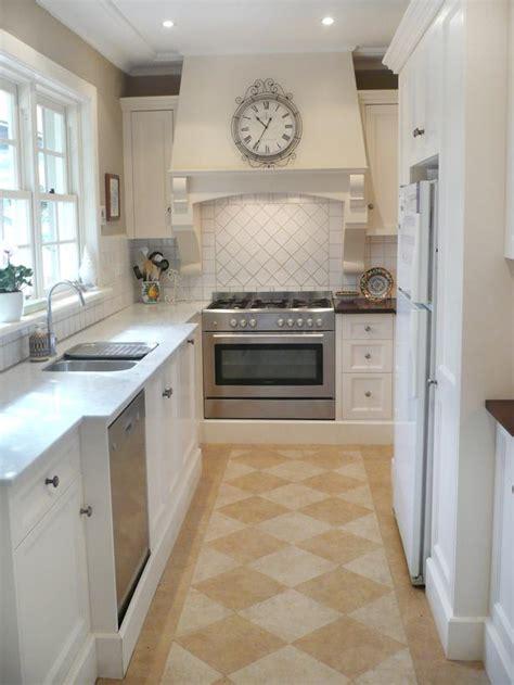 stylish narrow kitchen design ideas   home interior god