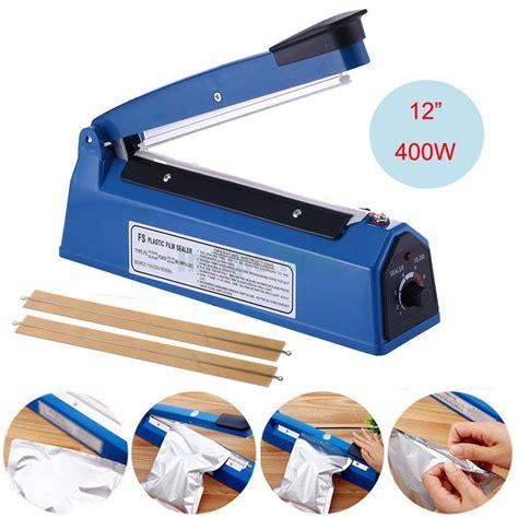 hand impulse heat sealing plastic sealer impulse sealer machine ebay