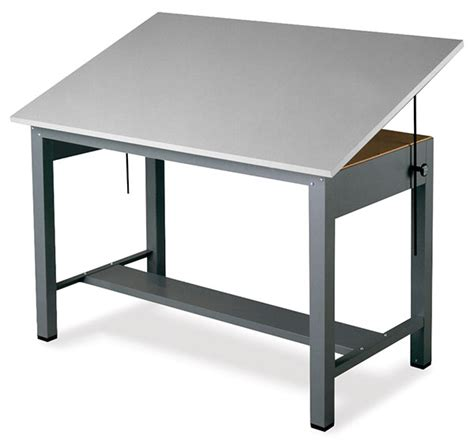 mayline economy ranger steel  post drawing tables