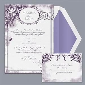 Invitations wedding invitations photos invitations for Weddingwire formal invitations