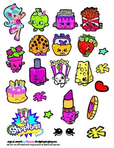 printable stickers shopkins stickers  printable