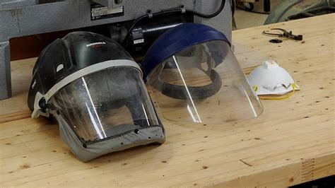 lathe safety face shield  respirator wwgoa