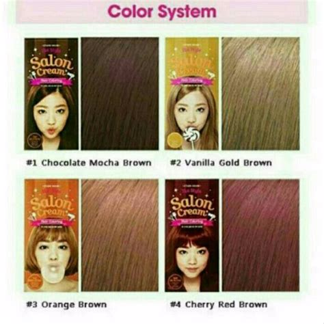 Jual Etude House Style Hair Coloring jual etude house style salon hair coloring cat
