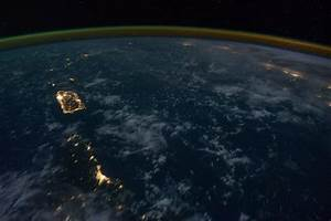 NASA Earth Night Lights - Pics about space