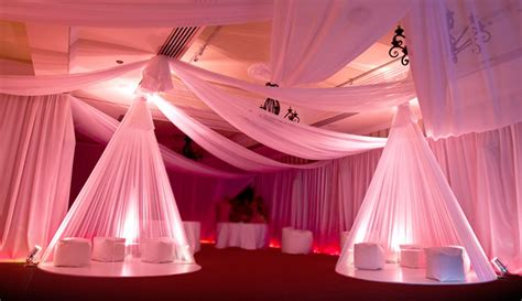 event drapery draping and designed deco pulse events