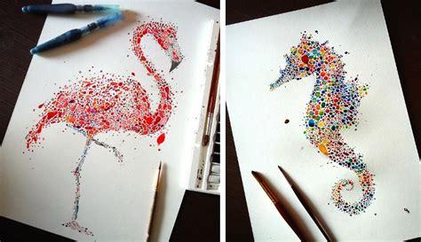 maestosi animali raffigurati  centinaia  punti
