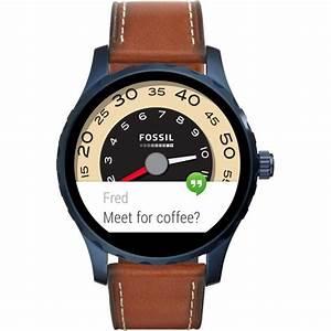 Montre Fossil Connectee : montre connect e fossil q marshal ftw2106 sur mode in motion ~ Voncanada.com Idées de Décoration
