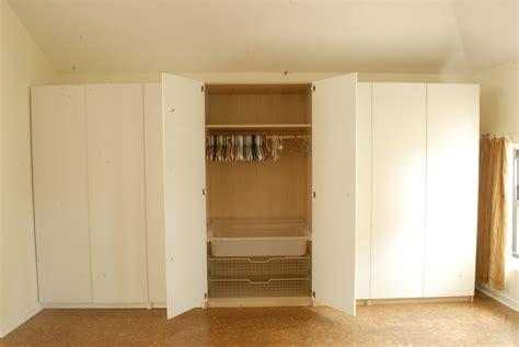 wall unit closet system