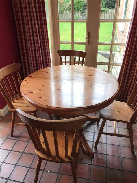 dining kitchen table solid wood pine  chair ms
