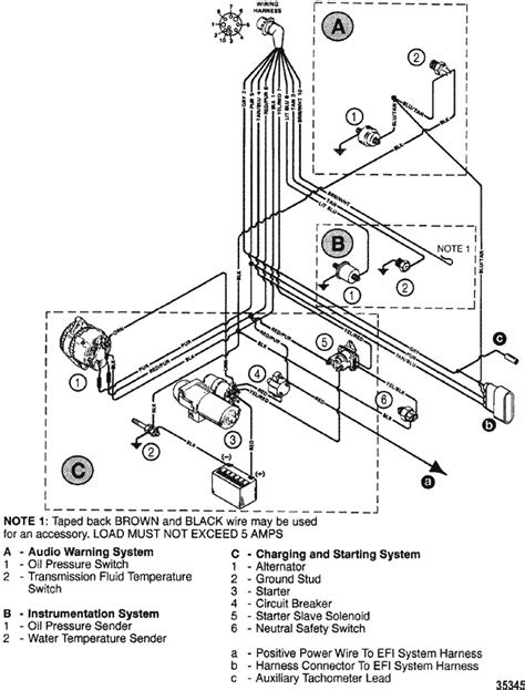Chri Craft 350 Wiring Diagram by Mercruiser 8 2l Mie Mpi Vi Gm 502 V 8 Wiring