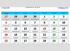 Kalender Indonesia Oktober 2015 Kalender Indonesia 2017