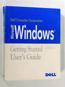 1992 Dell Microsoft Windows Version 3 1 Getting Started