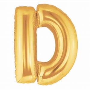 40 inch megaloon gold letter d balloons With 40 inch letter balloons