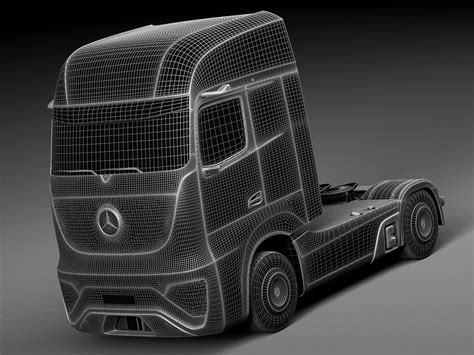 mercedes future truck ft 2025