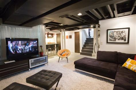 26 charming and bright finished basement designs page 2 of 5