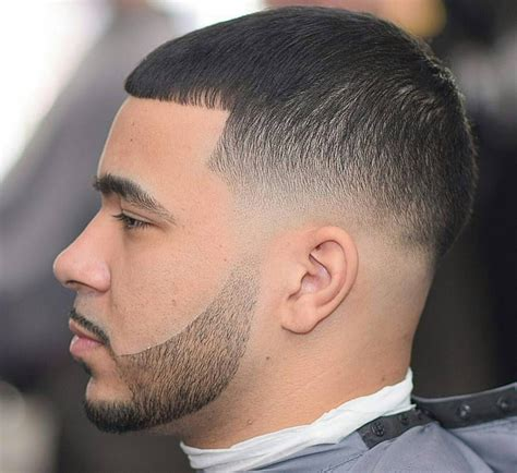 fade hairstyles with beard low fade haircut with beard