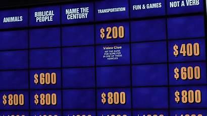 Jeopardy Clue Board Buzz Gameboard Things Screen