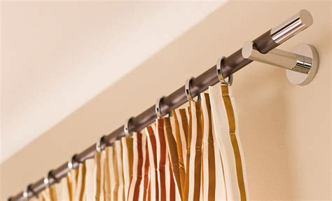 tapete modern gardinenstangen dekofactory